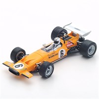 Spark McLaren M14A - 1970 South African Grand Prix - #6 D. Hulme 1:43