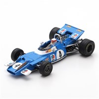 Spark Matra MS80 - 1st 1969 Dutch Grand Prix - #4 J. Stewart 1:43