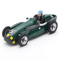 Spark Connaught A-Type - 1952 British Grand Prix - #5 E. Thompson 1:43