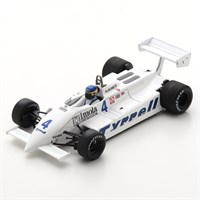 Spark Tyrrell 011 - 1981 Dutch Grand Prix - #4 M. Alboreto 1:43