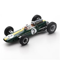 Spark Lotus 33 - 1966 French Grand Prix - #2 P. Rodriguez 1:43