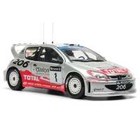 Sun Star WRC Peugeot 206 - 2002 - R. Burns 1:18