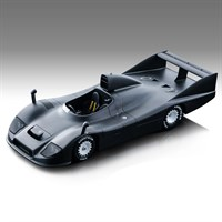 Tecnomodel Porsche 936 - 1977 Test Car - Matt Black 1:18