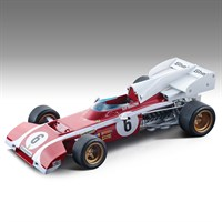 Tecnomodel Ferrari 312 B2 - 1972 South African Grand Prix - #6 C. Regazzoni 1:18