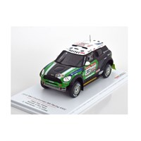 TrueScale Miniatures Mini Countryman - 1st 2012 Dakar Rally - #302 S. Peterhansel 1:43