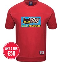 Retro Legends S.E.V Marchal T-sweat in red