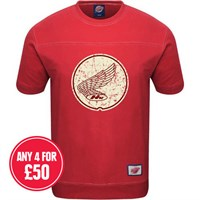 Retro Legends The Wing T-sweat in red