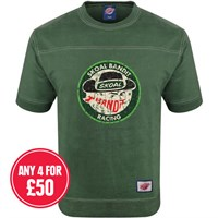Retro Legends Skoal Bandit Racing T-sweat in green