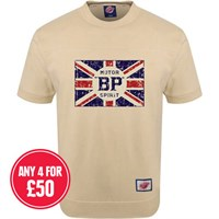 Retro Legends Motor BP Spirit T-sweat in cream