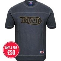 Retro Legends Classic Triton T-sweat in blue