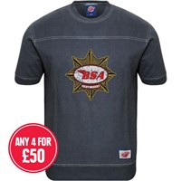 Retro Legends Classic BSA Gold Star T-sweat in blue