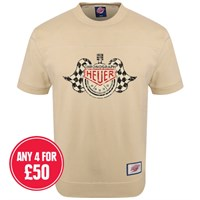 Retro Legends Heuer T-sweat in cream