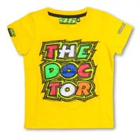 Rossi 2016 Kids The Doctor T-Shirt - Yellow