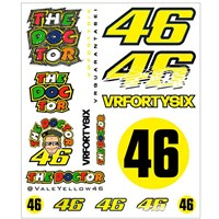 Rossi Sticker Set Large