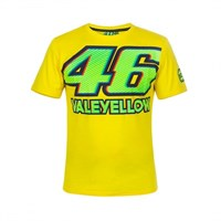 Rossi 46 Vale T-shirt in yellow