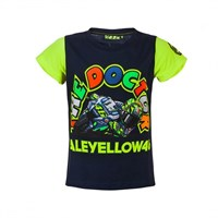 Rossi Kids Doc Bike T-Shirt Blue