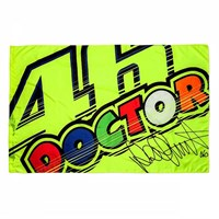 Rossi 46 Doctor Flag Yellow 140X90Cm