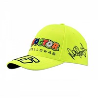 Rossi 2018 Classic The Doctor Cap in yellow