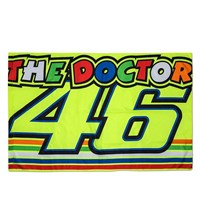Rossi 2018 The Doctor Flag in yellow
