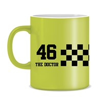 Valentino Rossi VR46 2020 mug in yellow