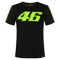 Valentino Rossi VR46 2020 46 T-shirt in black