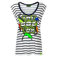 Valentino Rossi VR46 2020 ladies Street Art T-shirt in blue