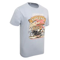 Vincent Rollie Free T-Shirt Grey