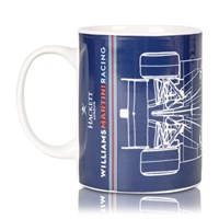 Williams 2017 Car Print Mug Navy