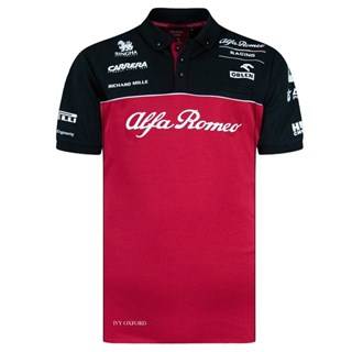 Alfa Romeo Racing 2020 Team Polo Shirt L