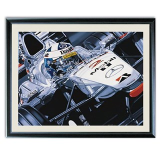 David Coulthard - Double Victory print