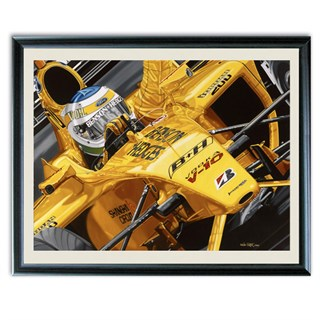 Signed Giancarlo Fisichella Brazilian Grand Prix
