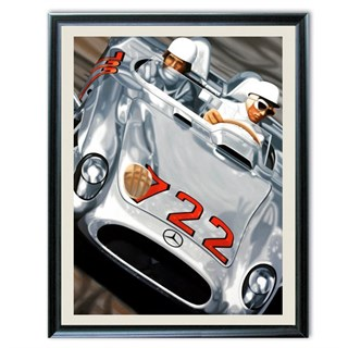 Signed Legends Of Mille Miglia print