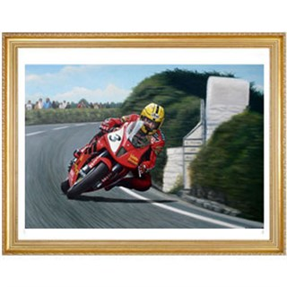 Joey Dunlop 'Another Milestone' Print