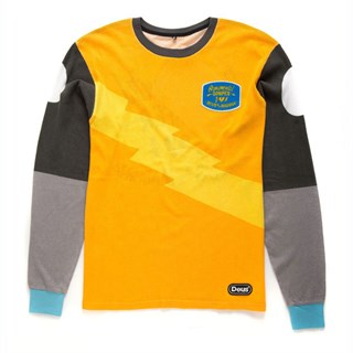 Deus OCD Moto 3 long sleeve T-shirt in yellow