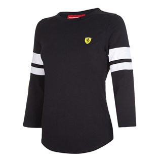 Ferrari Race 3/4 ladies T-Shirt in black