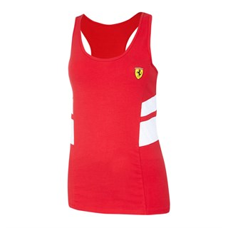 Ferrari Racer ladies vest in red