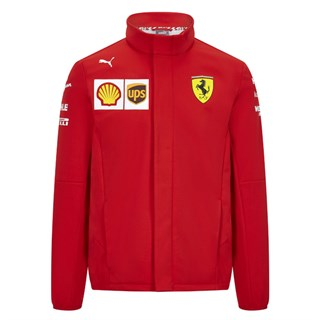 Scuderia Ferrari 2020 Team soft shell jacket in red XL