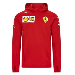 Scuderia Ferrari 2020 Team fleece in red M