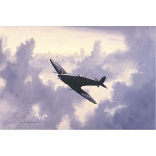 Spitfire - 'High In The Sunlit Silence' signed print