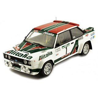 IXO Fiat 131 Abarth - 1978 Rally Portugal - #1 S. Munari 1:18