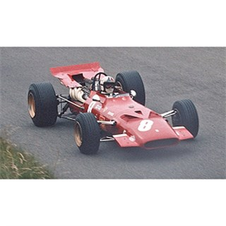 IXO Ferrari 312 F1 C.Amon #8 3rd 1969 Dutch GP 1:43