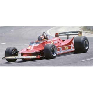 IXO Ferrari 312T5 - 1980 French Grand Prix - #2 G.Villeneuve 1:43