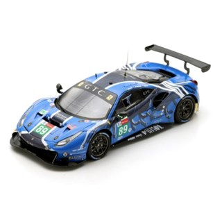 Look Smart Ferrari 488 GTE - 2019 Le Mans 24 Hours - #89 1:43