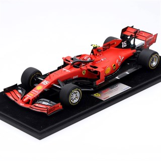 Look Smart Ferrari SF90 - 1st 2019 Belgian Grand Prix - #16 C. Leclerc 1:18