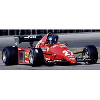 Look Smart Ferrari 126 C3 - 1983 Dutch Grand Prix - #27 P. Tambay 1:18