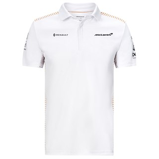 McLaren 2020 Team polo shirt in white L