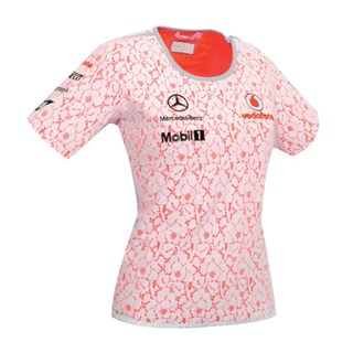 Vodafone McLaren Mercedes ladies lace top