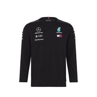 Mercedes AMG 2018 Team Long Sleeve T-Shirt Black XXL
