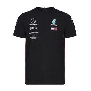 Mercedes-AMG Petronas Motorsport 2019 short sleeve Driver T-shirt in black