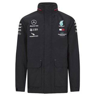 Mercedes-AMG Petronas Motorsport 2020 Team Rain jacket in black XL